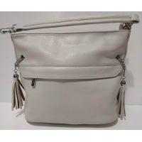 Женская сумка кросс-боди  Weiliya  (бежевая) 20-07-025