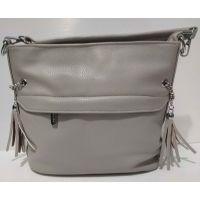 Женская сумка кросс-боди  Weiliya  (серая)   20-07-025