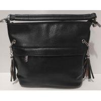 Женская сумка кросс-боди  Weiliya  (чёрная)   20-07-025