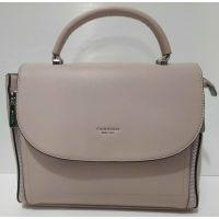 Женская каркасная сумка  Weiliya  ( тёмно бежевая)   20-07-027