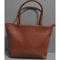 Женская вместительная сумка (рыжая) 16-06-015