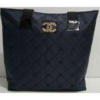 Вместительная стёганная сумка (синяя) 17-5-025