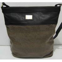 Женская сумка с лазерной вставкой 17-9-011