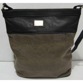 Женская сумка с лазерной вставкой 17-09-011