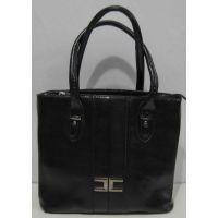 Женская сумка на каждый день (чёрная) 18-02-050