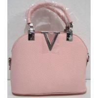 Стильная сумочка - клатч  (розовая) 18-08-029