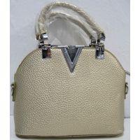 Стильная сумочка - клатч  (золотая) 18-08-029