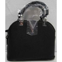 Стильная сумочка - клатч  (чёрная) 18-08-029