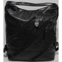 Женская  сумка - рюкзак (чёрная)18-09-172