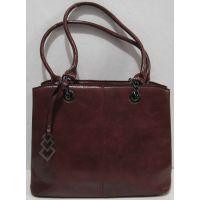 Женская  сумка (бордовая) 18-11-028