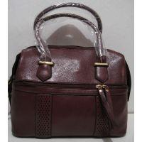 Женская сумка  (бордовая) 18-12-103