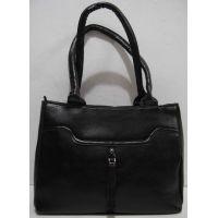 Женская сумка  на два отделения (чёрная) 18-12-111