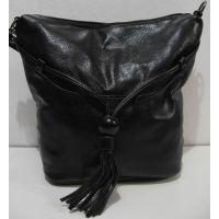 Женская  сумка крос-боди (чёрная) 18-12-135