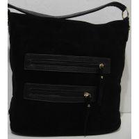 Женская замшевая сумка 18-12-156