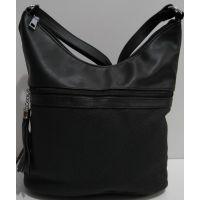 Женская сумка кросс-боди (чёрная) 19-02-013