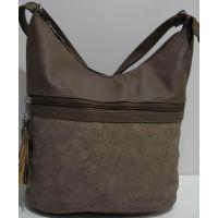 Женская сумка кросс-боди (хаки) 19-02-013