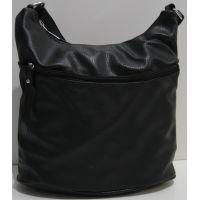 Женская сумка кросс-боди (чёрная) 19-02-022