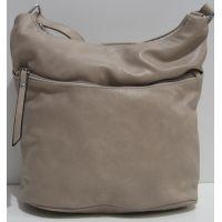 Женская сумка кросс-боди (бежевая) 19-02-022