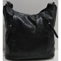 Женская сумка кросс-боди (чёрная) 19-02-023