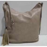 Женская сумка кросс-боди (бежевая) 19-02-028