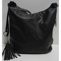 Женская сумка кросс-боди (чёрная) 19-02-028