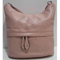 Женская сумка кросс-боди (пудра) 19-02-029