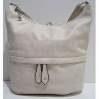 Женская сумка кросс-боди (бежевая) 19-02-029