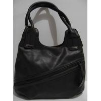 Женская сумка на два отделения (шоколадная) 19-02-037