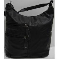 Женская сумка кросс-боди (чёрная) 19-03-040
