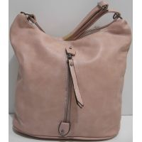 Женская сумка кросс-боди (пудра) 19-03-041