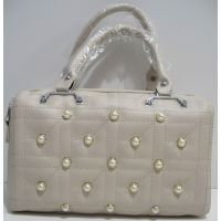 Женская каркасная сумка (бежевая) 19-03-050