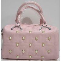 Женская каркасная сумка (розовая) 19-03-050