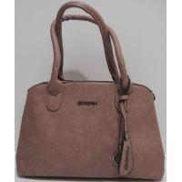 Женская сумка на два отделения (бежево-розовый) 19-04-003