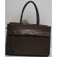 Женская кожаная сумка (коричневая) 19-04-009
