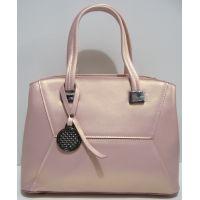Женская кожаная сумка Myriam (пудра перламутровая) 19-04-021
