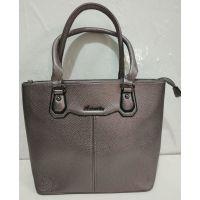 Женская сумка (тёмно-серебряная) 19-07-009