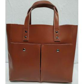Женская кожаная сумка (коричневая ) 19-08-025