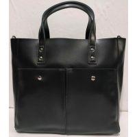 Женская кожаная сумка (чёрная ) 19-08-025