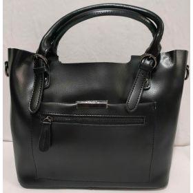 Женская кожаная сумка (чёрная ) 19-08-026