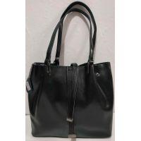 Женская кожаная сумка (чёрная ) 19-08-030