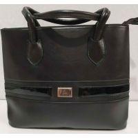 Женская сумка на два отделения (шоколадная) 19-08-064