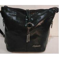Женская сумка кросс- боди (чёрная)  19-10-071