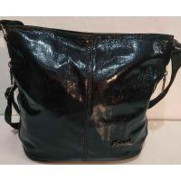 Женская сумка кросс- боди (чёрная)  19-10-072