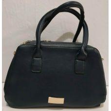 Женская сумка на два отделения (синяя) 19-11-046