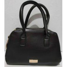 Женская сумка на два отделения (шоколадная) 19-11-046