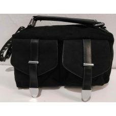 Женская стильная сумка кросс-боди (чёрная) 19-11-047