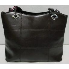 Женская сумка на каждый день (чёрная) 19-11-049