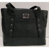 Женская вместительная  сумка (чёрная) 19-11-052