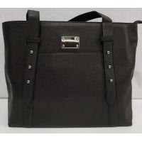 Женская вместительная  сумка (коричневая)19-11-052