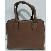 Женская классическая сумка (коричневая) 20-01-004